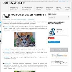 7 sites pour créer des GIF animés en ligne.
