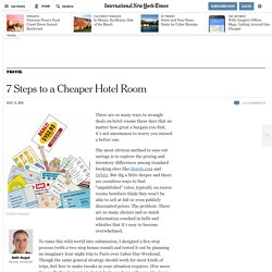 7 Steps to a Cheaper Hotel Room