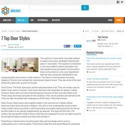 7 Top Door Styles