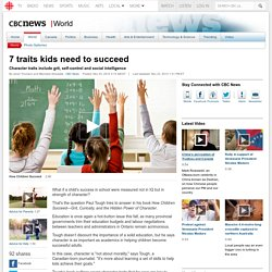 7 traits kids need to succeed