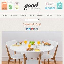 7 trends in food