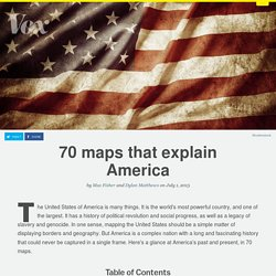 70 maps that explain America