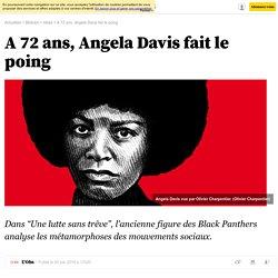 A 72 ans, Angela Davis fait le poing