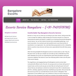 High Profile Escort Service in Bangalore 7401578786 Bangalore Independent Call Girl Services