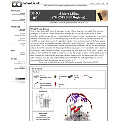 CIRC-05 (74HC595 Shift Register) « .:oomlout:.