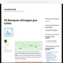 55 Banques d'images gratuites