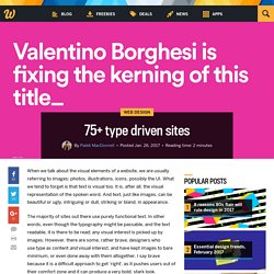 75+ type driven sites