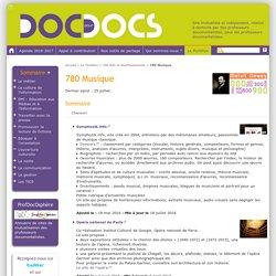 780 Musique - Doc pour docs