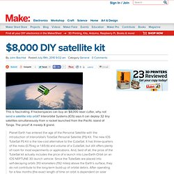 Make: Online : $8,000 DIY satellite kit