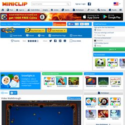 8 Ball Pool Multiplayer - Sports Games at Miniclip
