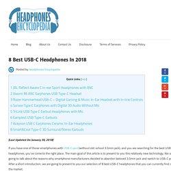 8 Best USB-C Headphones In 2018