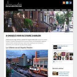 8 choses à voir ou à faire à Harlem