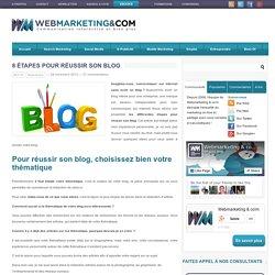 8 étapes pour réussir son blog ?