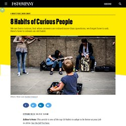 8 Habits of Curious People