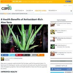 8 Health Benefits OfAloe Vera