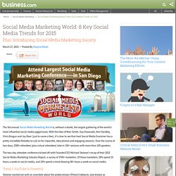 8 Key Social Media Trends for 2015