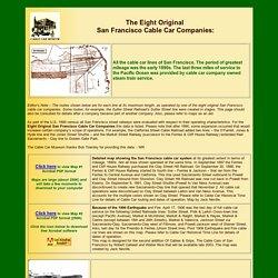 8 Original Cable Car Companies