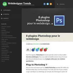 8 plugins Photoshop pour le webdesign