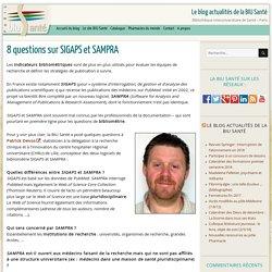 8 questions sur SIGAPS et SAMPRA -