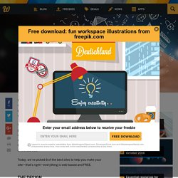 8 tools to make your website for free