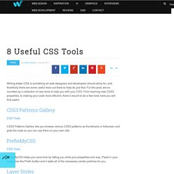 8 Useful CSS Tools