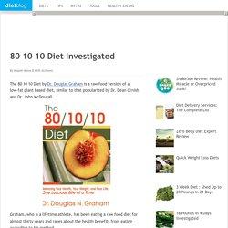 80 10 10 Diet