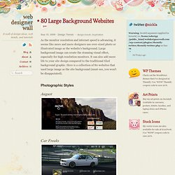 80 Large Background Websites