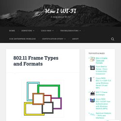 802.11 Frame Types and Formats – How I WI-FI