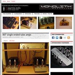 807 Sarris SET AMP