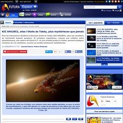 KIC 8462852, alias l'étoile de Tabby, plus mystérieuse que jamais