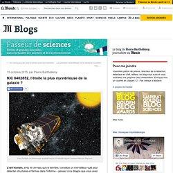 KIC 8462852, l'étoile la plus mystérieuse de la galaxie?