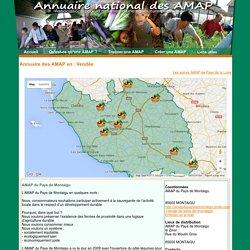 Annuaire des AMAP Vendée