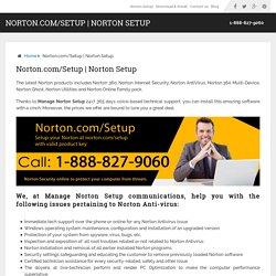 norton setup install