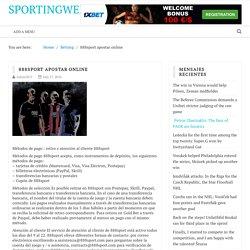 888sport apostar online – Sportingweb24.com