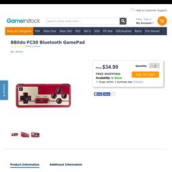 8Bitdo Xstander for SFC30/SNES30 GamePad