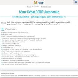 8ème Débat OCIRP Autonomie