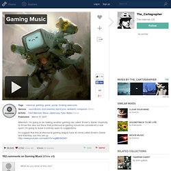 Gaming Music | The_Cartographer | 8tracks