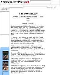 9-11 CONSPIRACY