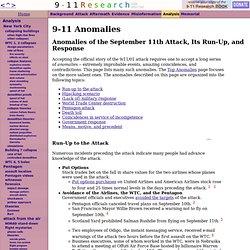9-11 Anomalies - CometBird