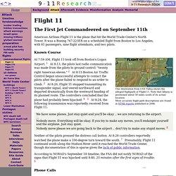 Flight 11 - CometBird