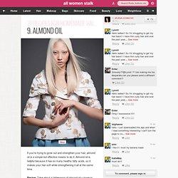 9. Almond Oil