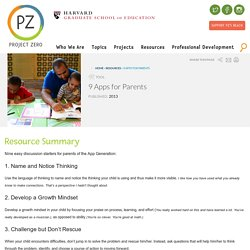 9 Apps for Parents