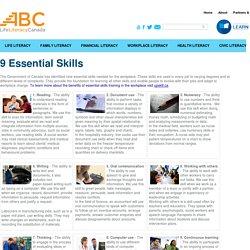 9 Essential Skills