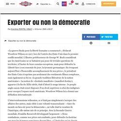 Exporter ou non la démocratie