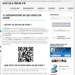 9 générateurs de QR Codes en ligne.