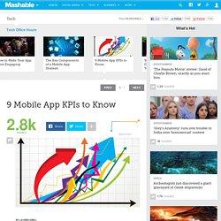9 Mobile App KPIs to Know
