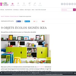9 objets écolos signés Ikea