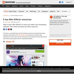 10 top After Effects resources