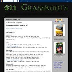 9/11 Grassroots Organizers