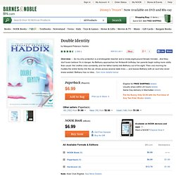Double Identity by Margaret Peterson Haddix, Simon & Schuster Books For Young Readers